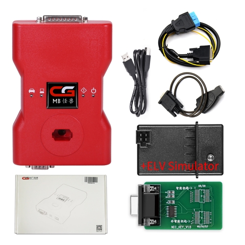 2019 CGDI MB Benz Car Key Programmer Support All Key Lost with Full Adapters for ELV Repair