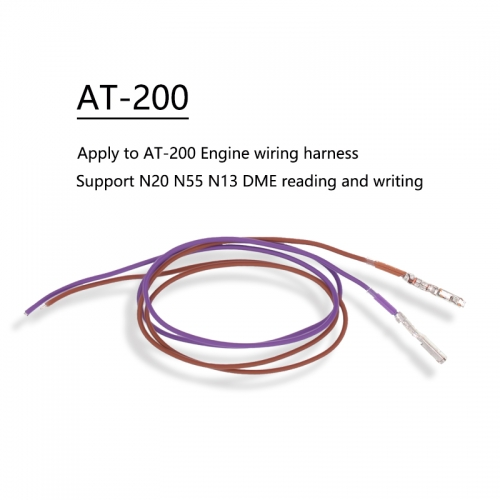 AT-200 car key programmer engine programming wire harness
