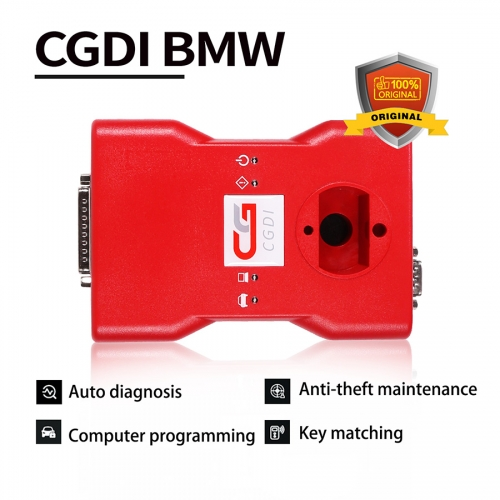 CGDI BMW Auto key programmer+ eight pin exempt disassembly Adapter & CGDI BMW all 17 functions free open