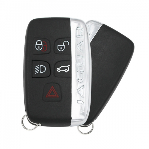 Remote control auto smart card car key for Jaguar 4+1button With small key 433MHz/315MHz