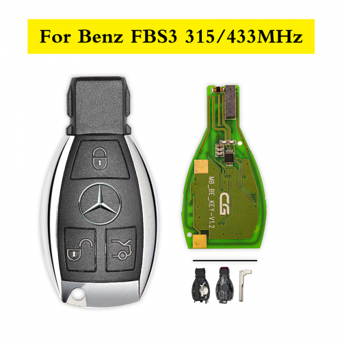 10pcs Benz smart key 315MHz And 433MHz
