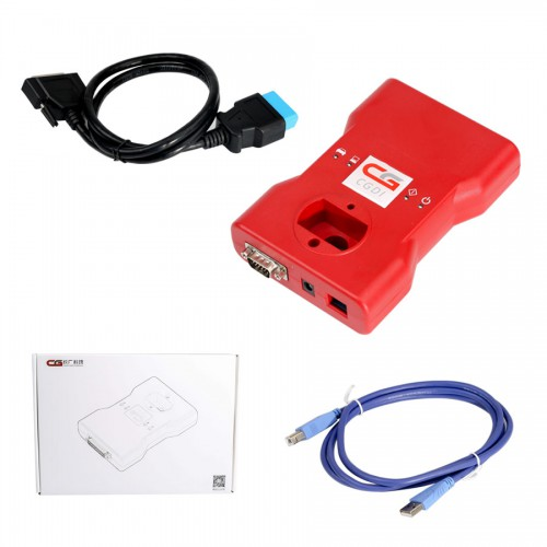 CGDI BMW Key Programmer with BMW FEM Test Platform and Gearbox Plug