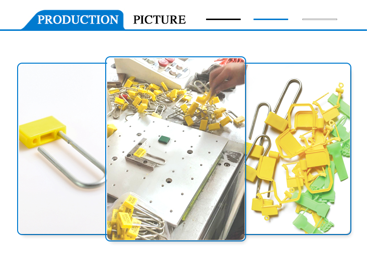 Manufacturing process of Padlock seal