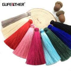 GUFEATHER L20  Silk tassel  7CM 5pcs/bag