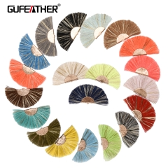 GUFEATHER L139 Tassel 7CM 2pcs/bag