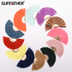 GUFEATHER L140 Tassel 7CM 2pcs/bag