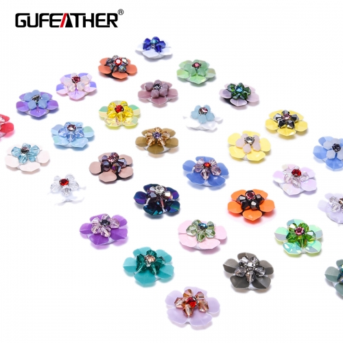 GUFEATHER F69 Sequin flower 10pcs/bag