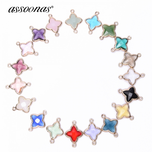 assoonas M116 Jewelry Accessories 2.3*1.6cm 4pcs/bag