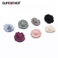 GUFEATHER F99 Patch flower 2cm 10pcs/bag