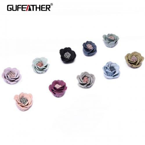 GUFEATHER F95 Patch flower 2cm 4pcs/bag