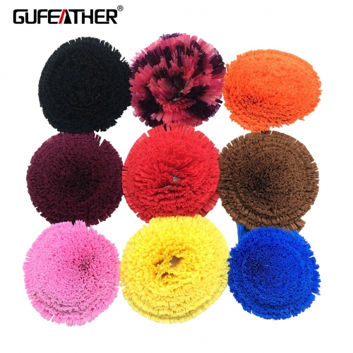 GUFEATHER L161 raffia tassels 100cm*3cm 1pcs/bag