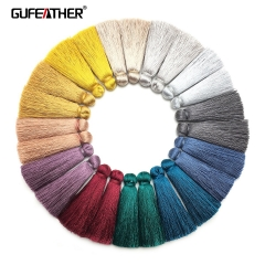 GUFEATHER L153 Silk tassel 4cm 4pcs/bag