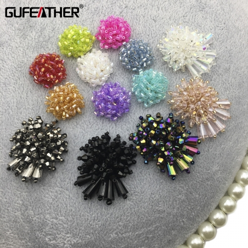 GUFEATHER L187 diy earrings,diy beads accessory