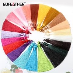 GUFEATHER L191,silk tassel 9.1cm,10pcs/lot