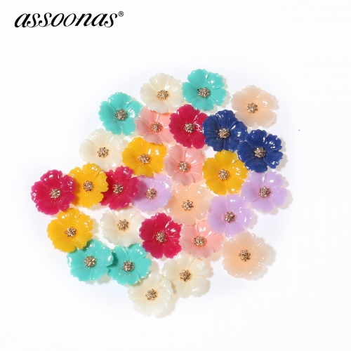 assoonas M310,jewelry making,  stone earrings accessories,10pcs/lot
