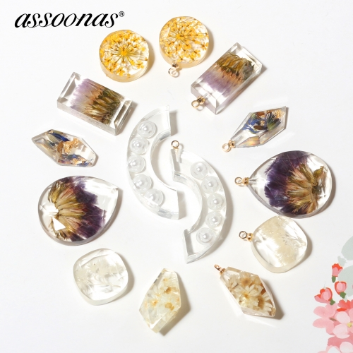 assoonas M326,resin earrings pendant accessories,10pcs/lot