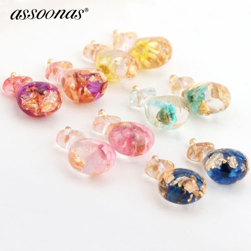 assoonas M360,diy earrings pendant,pocket shape earrings,6pcs/lot