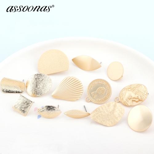 assoonas M359,diy earrings pendants,retro gold pendant,10pcs/lot