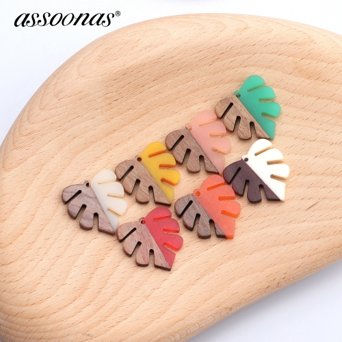 assoonas M370,Leaf fishbone shape jewelry findings,earrings accessories,10pcs/lot