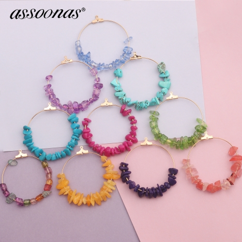 assoonas M412,diy beads pendant,jewelry findings,gold plated,diy earrings 4pcs/lot