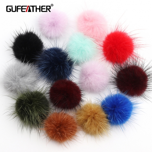 GUFEATHER L201,Fur tassel,Velvet tassel,diy earrings pendant,10pcs/lot
