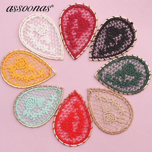 assoonas M410,jewelry accessories,diy pendant,diy earrings,10pcs/lot