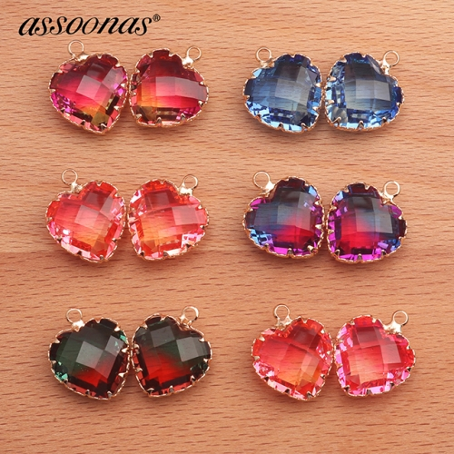 assoonas M414,glass earrings pendant,metal frame,accessories parts,10pcs/lot