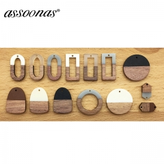assoonas M189 wood  jewelry accessories 10pcs/lot