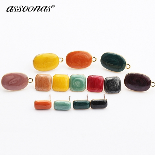 assoonas M435,diy metal earrings pendant,10pcs/lot