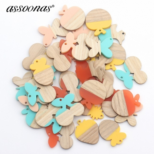 assoonas M428,fish shape accessories,diy earrings pendant,20pcs/lot
