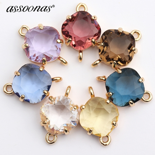 assoonas M438,jewelry accessories,glass earrings,10pcs/lot