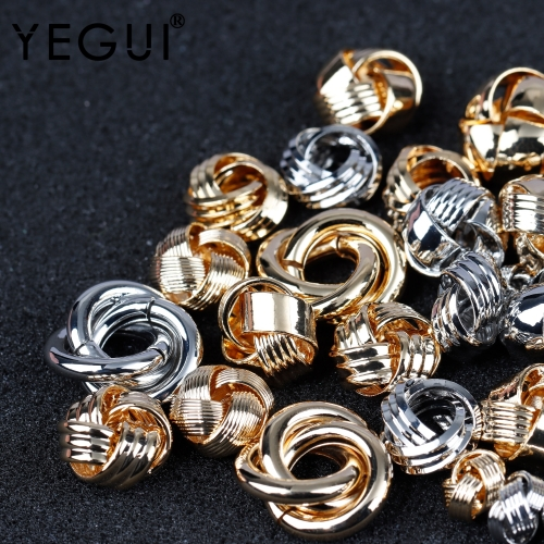 YEGUI M916,jewelry accessories,18k gold plated,copper metal,rhodium plated,hand made,jewelry making,diy earrings,10pcs/lot