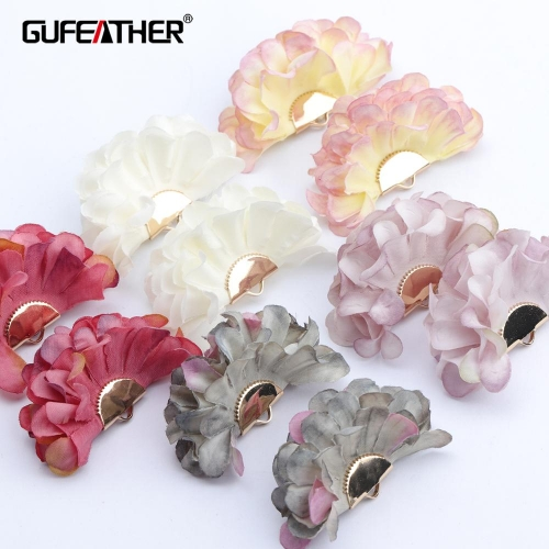 GUFEATHER F146,jewelry accessories,diy flower pendants,flower shape,charms,hand made,jewelry making,diy earring,10pcs/lot