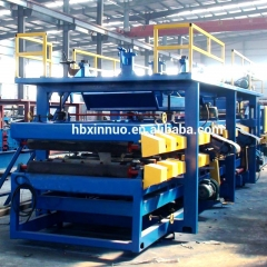 Equipment for the production of Z Lock sandwich panels exterior interior wall panel machine