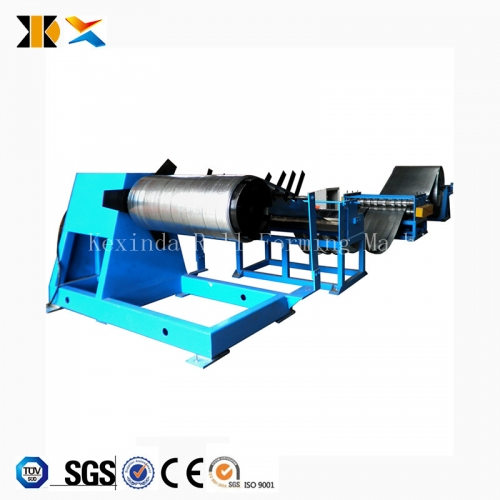Cut to length line steel coil slitting machine
