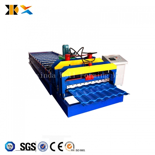 Colored Roofing Steel Sheet Metal Glazed Tiles Forming Machine Roll Forming Machinery
