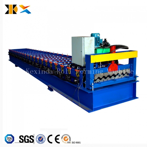 Automatic corrugate roof tile making machine / roof tile machine