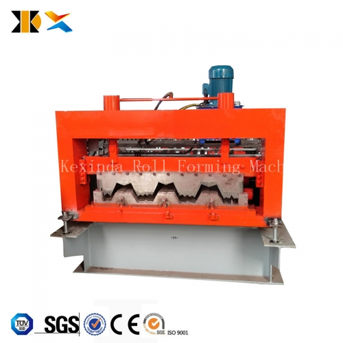 KXD 720 cold form steel floor deck forming machines with CE ISO