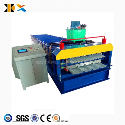 836+836 Double Layer Roll Forming Machine
