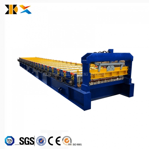 1000 Trapezoidal metal roof sheet roll forming machine