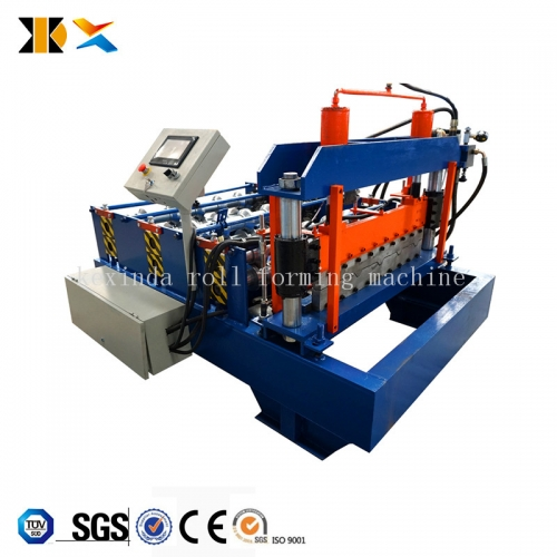 New type horizontal and vertical arch crimping machine