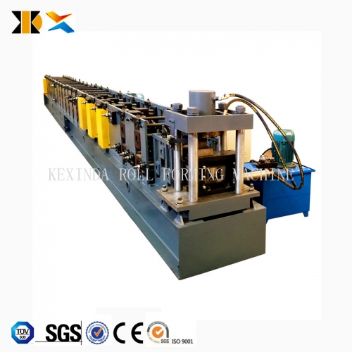 KXD storage rack upright roll forming machine