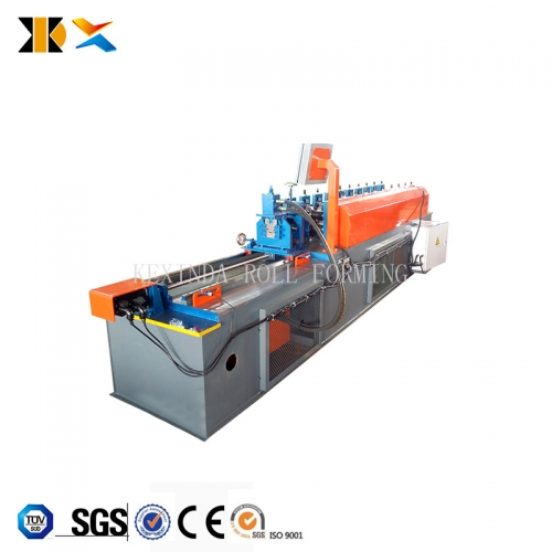 light steel keel Metal furring keel channel house structure roll forming machine with punching hole