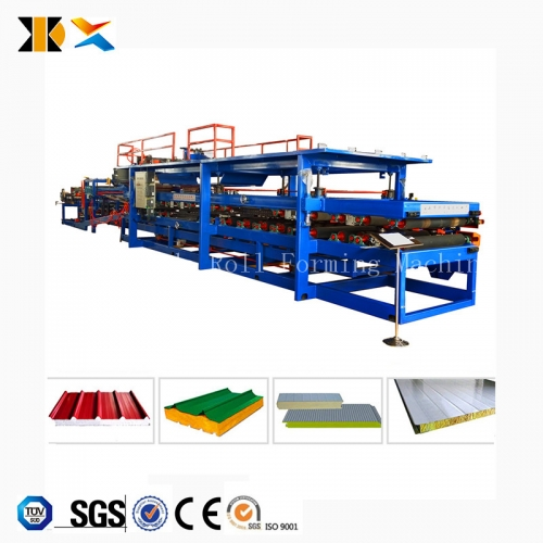 Metal Sandwich Panel The Pack Roof Sandwich Machine Sandwich Machinery