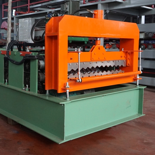 Zink Aluminum Corrugation Sheet Machine Rolling Forming Machine in China