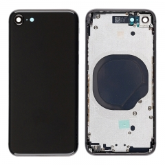 For iPhone 8 Back Cover Battery Housing Frame Assembly - Black