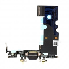 For iPhone 8 USB Dock Charging Port Flex Cable - Black