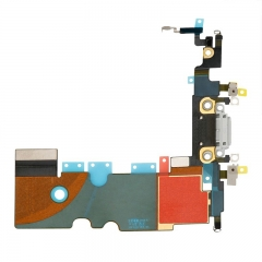For iPhone 8 USB Dock Charging Port Flex Cable - White