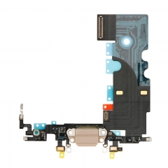 For iPhone 8 USB Dock Charging Port Flex Cable - Gold