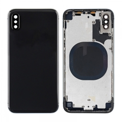 For iPhone X Back Cover Battery Housing Frame Assembly - Black